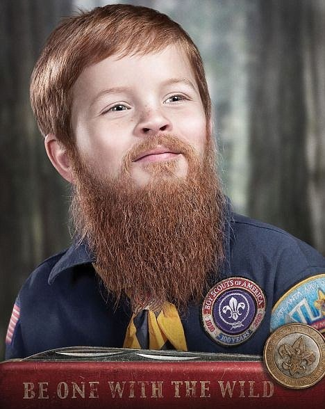 Boy Scout Beards