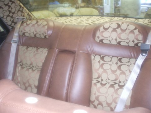 coach fabric 13 car interiors. Black Bedroom Furniture Sets. Home Design Ideas