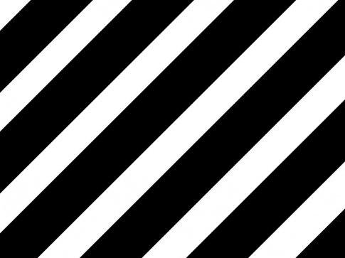 Black And White Stripe Tea Party