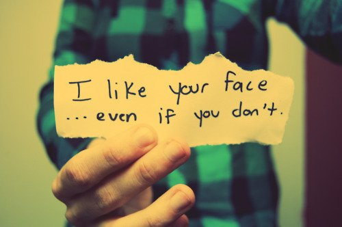 I Like Your Face Even If You Don T