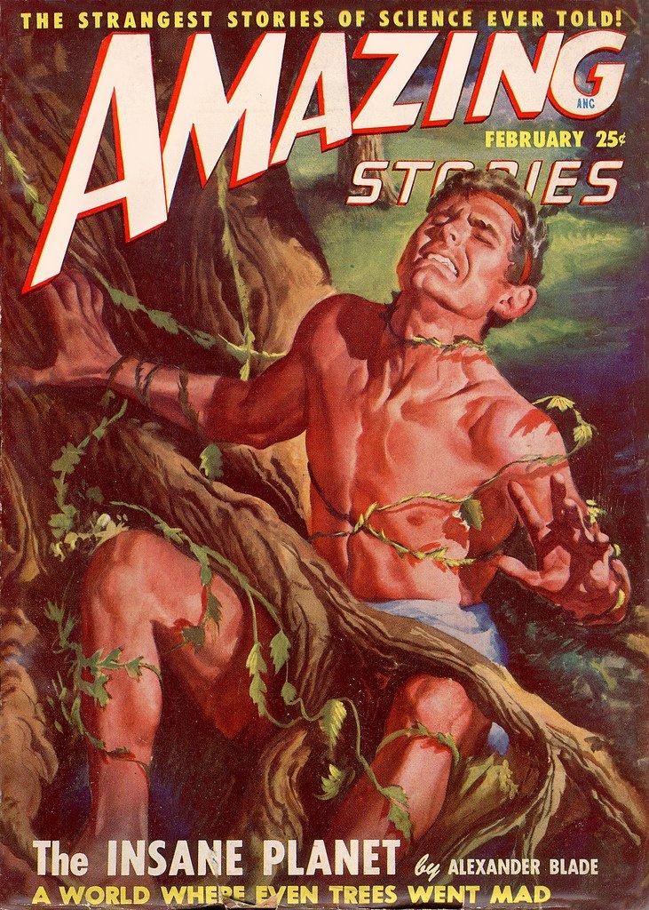 Amazing Stories Volume 21 Number 06: Amazing Stories: The 1940's Magazine