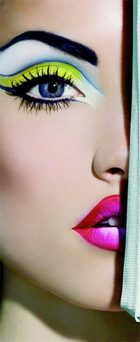Cartoon Makeup: Pop Art Make-Up