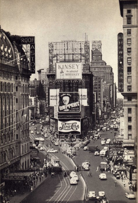 Time Square - 1945